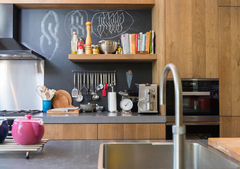 Industriele Keuken Rotterdam : Stoere keuken van den dongen parket
