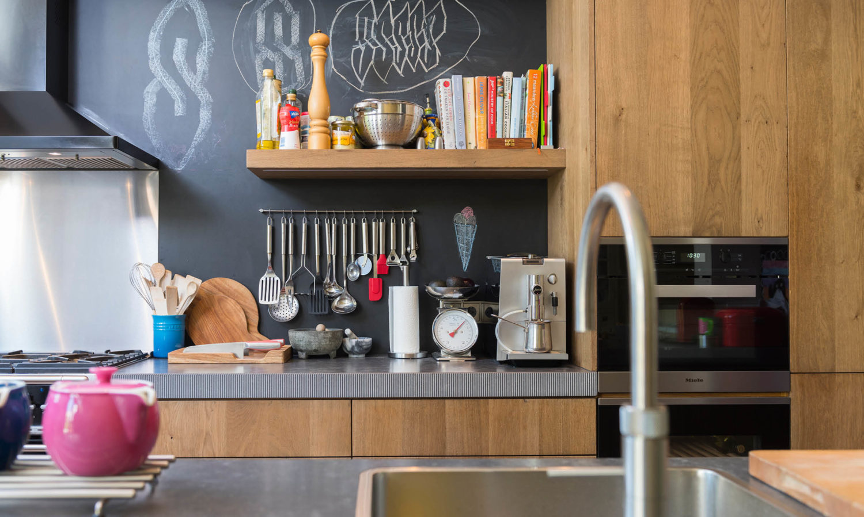 Stoere keuken van den dongen parket for Interieur keuken